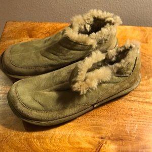 Born leather slip on 👞